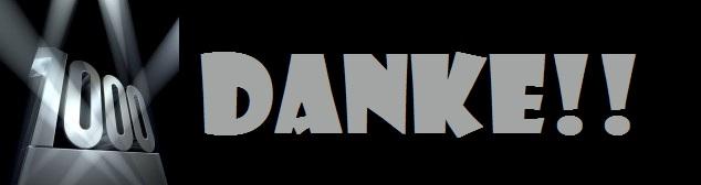 1000 Klicks - DANKE