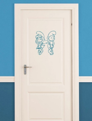 Badezimmertür - Alternative 2