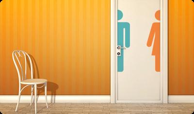 Badezimmertür - Alternative 1
