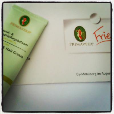 PRIMAVERA friends - Willkommensgeschenk