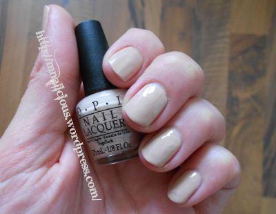 4. OPI Nail Lacquer Farbe