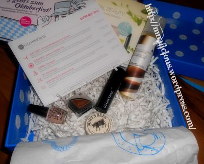 Glossybox September - Inhalt