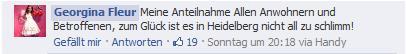in Heidelberg nicht schlimm